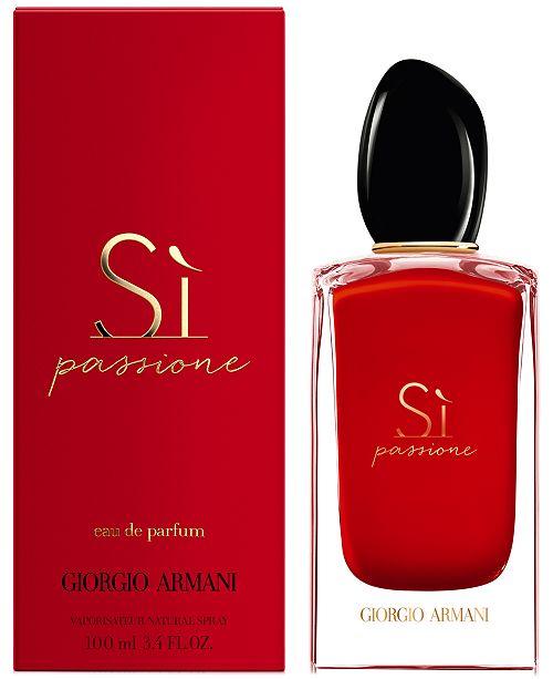Giorgio Armani Si Passione For Women