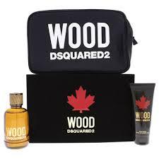 Giftset Dsquared2 Wood Pour Homme 3PCS