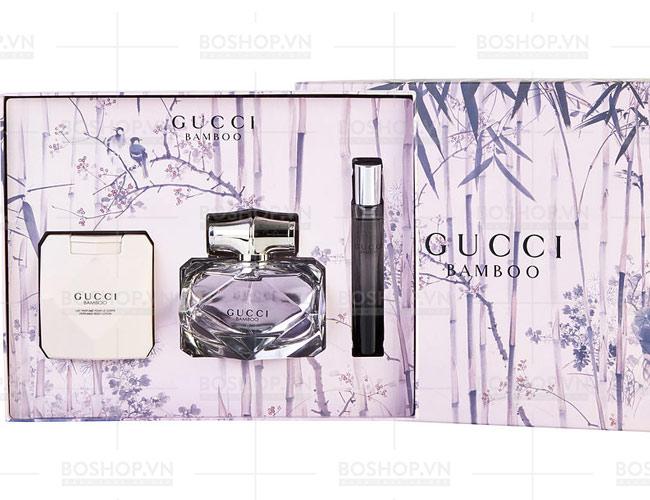 Set Gucci Bamboo Pour Femme