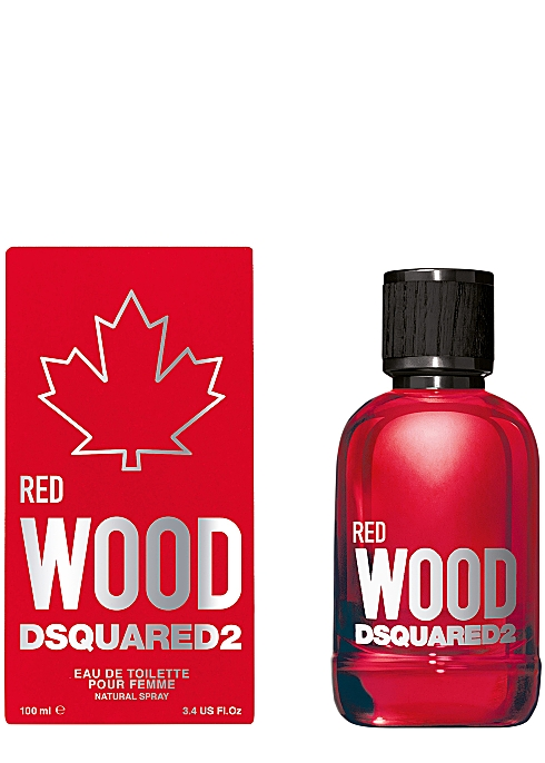 DSquare Wood Red