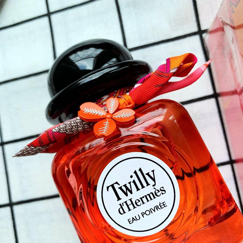 Hermes twilly eau poivree limited edition