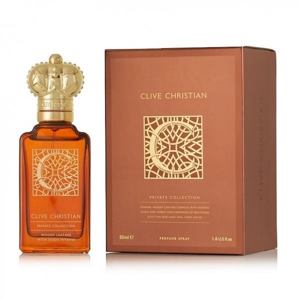 Clive C for Men Woody Leather With Oudh Intense