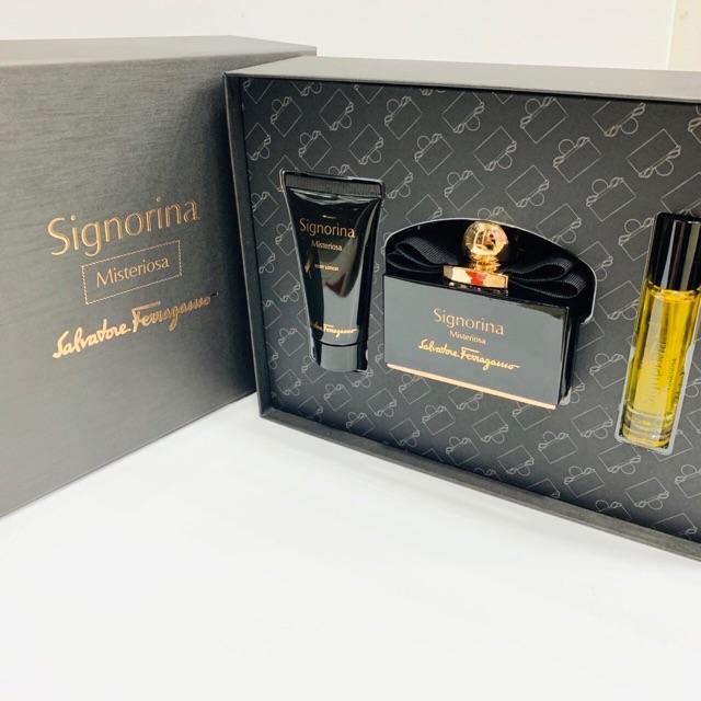 Set For Women Signorina Misteriosa by Salvatore Ferragamo 100ml