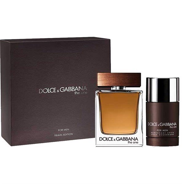 Set Dolce & Gabbana The One Eau de Toilette for Men 2pcs ( EDT 100ml & Lăn khử mùi 70g )